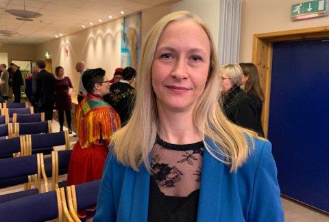 STYRELEDER: Renate Larsen er styreleder i Helse Nord RHF.