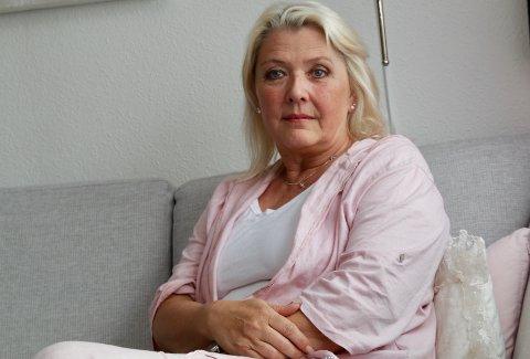 FORSIKTIG OPTIMIST: Marianne Meinich Jensen har levd i 17 år med en sønn som er rusmisbruker. Nå øyner hun et lite håp om at han skal komme seg ut av rusen.