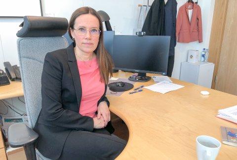 FRYKTER FLERE: Ordfører Marianne Sivertsen Næss (Ap) i Hammerfest frykter at det skal komme flere positive prøvesvar.