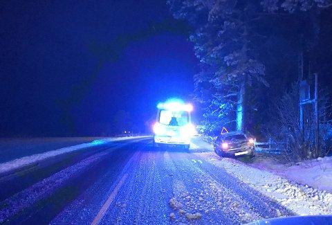Utforkjøringen skjedde på fylkesvei 171 mellom Finstadbru og Killingmo.