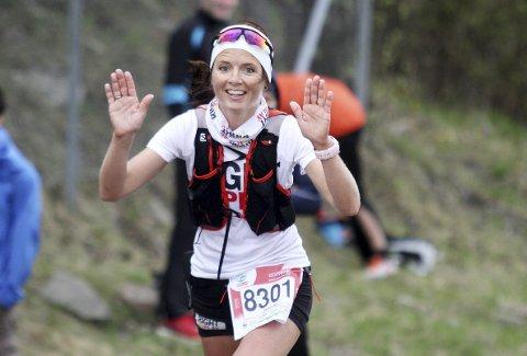Hun er tydeligvis I FORM: Jeanette Vika imponerte da hun ble niende beste dame på 80-kilometeren i Oslo Ecotrail. Foto: Svein Halvor Moe