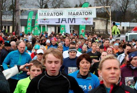 Holmestrand maraton er avlyst, men det er mulig å delta i et virtuelt løp.