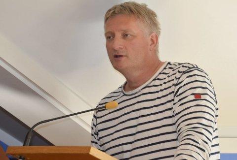 ROS: Ole Einar Lauvåsen (Ap) ga uforbeholden ros til brannvesenet i Kragerø.