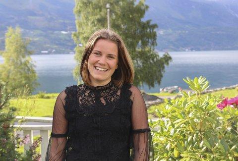 Skodespelar: Oda Kristin er klar for å flytte til Oslo for å studere skodespel. Fram til no synest ho det er revy og humor som har vore det kjekkaste, men er førebudd på å vere innom ulike sjangrar i løpet av bachelorprogrammet ved Høyskolen Kristiania.foto: Privat