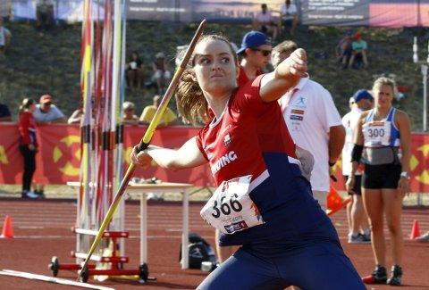 NORGESMESTER: Ane Dahlen tok sitt første NM-gull for senior da hun gikk til topps under NM på Hamar lørdag.FOTO: RUNE HELLE