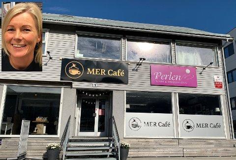 Lene Henningsen er i dialog med noen som vil drive ny kafé i Viangården.