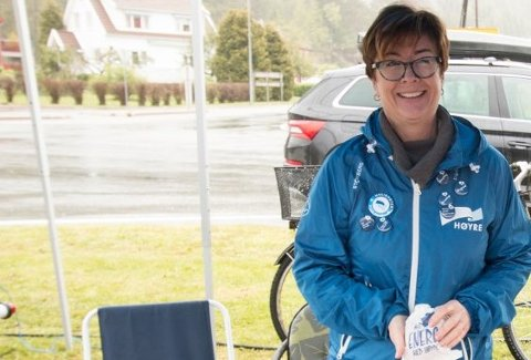 GLAD: Bodil Stensrud er glad for at Havsåsen løftes opp til årsmøtet i Agder Høyre.