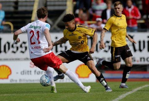 10. PLASS: Jørgen Tjærnås spår Moss FK vil forbli midt på tabellen også denne sesongen.
