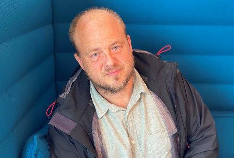 ERFARING: Eivind Holmsen Sundrehagen (45) har leid ut gjennom Airbnb i Moss siden 2016.