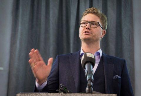 Magnus Reitan er daglig leder i Reitan Kapital. Her i et bilde fra 2018.