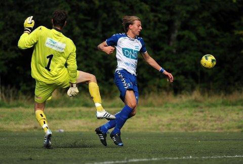 DUELL: Markus Woldsund ga alt i duellene.