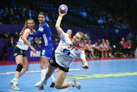 FERDIG I EM: Vilde Ingstad og Norge ble nummer fem i EM etter 38-29 seieren over Sverige.