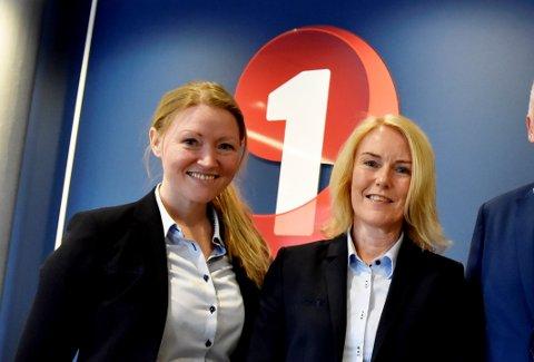Kristin Lonbakken og Unni Strand i Sparebank 1 Lom og Skjåk.