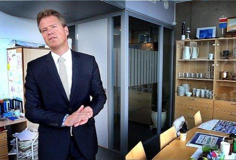 Jens Johan Hjort har takket ja til å være gjest i Nytt på Nytt.