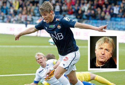 Arne Erlandsen (innfelt) er raus med rosen når det gjelder TIL-aktuelle Thomas Lehne Olsen. Foto: Scanpix