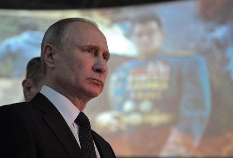 I en ny dokumentarfilm forteller den russiske presidenten om dramaet som utspant seg før åpningsseremonien under OL i Sotsji. Foto: Alexei Druzhinin (AFP)