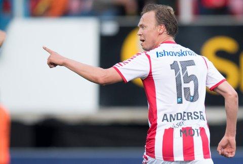 FÅR SJANSEN: Magnus Andersen har startet to eliteseriekamper for TIL i år. Den tredje kommer søndag mot Odd i Skien.
