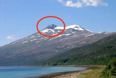 FUNNET HER: I dette fjellområdet ble Monika Therese Lindbjør Kristoffersen (36) funnet død fredag formiddag.