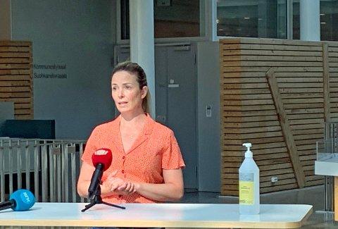 KOMMUNEOVERLEGE: Katrine Kristoffersen.