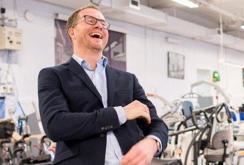 FORNØYD: Andreas Østenrød er svært fornøyd med at selskapet kan fortsette å levere tjenester innenfor arbeidslivet.