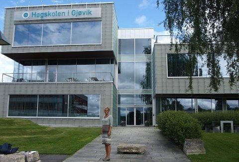 Høy strykprosent: Høgskolen i Gjøvik kommer nest dårligst ut på en oversikt over skolene med høyest søkertall. – Slik tall er sammensatt, mener Gunn Rognstad.Arkivbilde