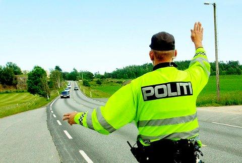STOPP: Utrykningspolitiet målte kvinnen til en fart på 133 kilometer i timen i 80-sone. (Illustrasjonsfoto)