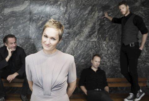 Skap-gjøvikenser: Live Maria Roggen har et tett og nært forhold til Gjøvik. Onsdag kveld kommer hun sammen med jazzkvartetten Come Shine til Friscena som et ledd i Resonans'  spennende høstprogram. pressebilde