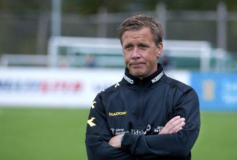 STRID: Espen Haug og Raufoss fotball er fortsatt ikke enige om betingelsene for å oppheve trenerkontrakten. Arkivbilde