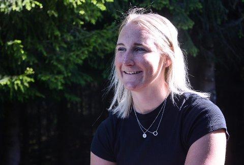 VED GODT MOT: Maren Skjøld har besluttet å legge slalåmskiene på hylla etter at hun ble vraket fra alpinlandslaget.