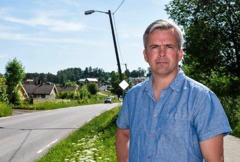 SER MØRKT UT: - Det ser mørkt ut nå med tanke på neste vinter, sier ordfører Bror Helgestad.