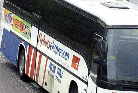 LITEN INTERESSE: Få ønsket å benytte Flybussekspressen fra Vestby og Son i forbindelse med flyreiser fra Moss lufthavn Rygge.