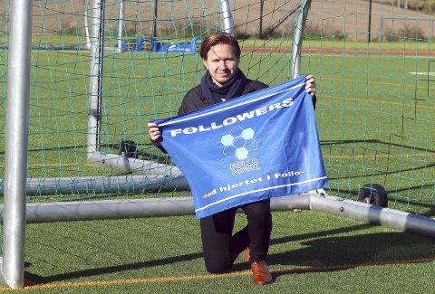 Alt for Follo FK: Lars Mathias Noreng og supporterklubben Followers jobber hardt for at Follo FK skal bestå som klubb også i årene som kommer.foto: knut Stenseth