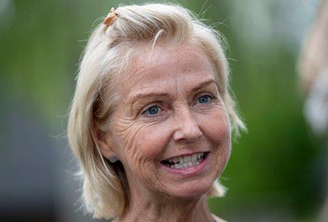 Berit Kjøll ble valgt til ny idrettspresident søndag.