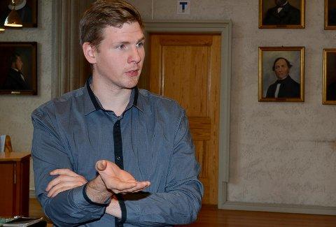 PROVOSERT: Elverum Ap-leder Magnus Stenseth (Ap) er provosert over kritikken fra Hamar mot Elverums kamp for å beholde arbeidsplasser.