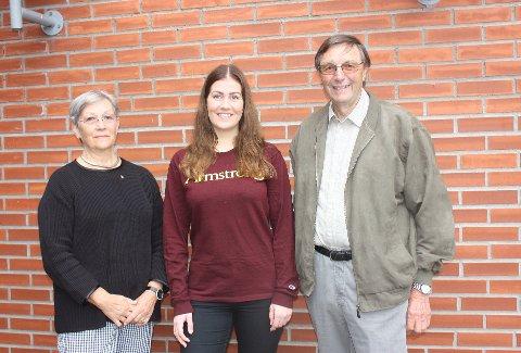Brevik Rotary tilbyr ungdom mellom 18 og 24 år å søke på Georgia-stipendet som gir et gratis studieår i USA. Mette Ørstvet, Marlene Hegna og Omund Revhaug  reklamerer for det unike tilbudet.