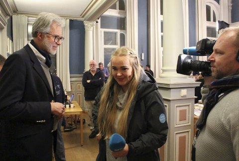 NRK-teamet ville ha Samdal i tale etter overraskende vending om jernbanespor som kan bli del av nasjonal sykkelrute.