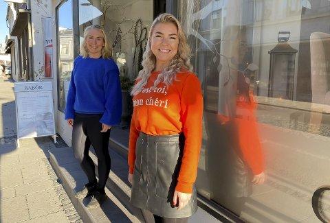SAMARBEIDER: Anette Moen og Linda Sem Brårmo har startet samarbeid. Kafeen hos Love By Moen åpner i ny drakt med Pure som konsept.