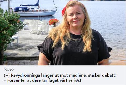 47 KOMMENTARER: Temaet engasjerer, uten tvil. På få timer tikket 47 kommentarer inn på saken om «Sommershowet med Lena og de» på PDs Facebook-side.