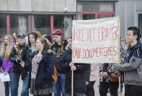 Stor uenighet: Elever og ungdomspartier raser mot de nye fraværsreglene i skolen.Foto: Kenneth Haagensen Husby