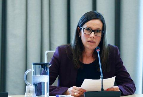 Marianne Sivertsen Næss er  ordfører i Hammerfest kommune. Foto: Terje Pedersen / NTB
