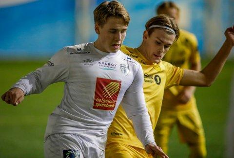 NESTEN: Håkon Nerdal og Rana FK leverte en god finale, men måtte se seg slått til slutt.