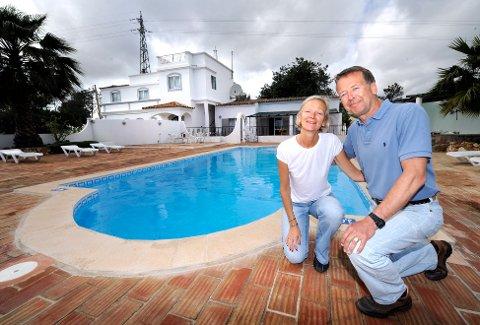 Kjersti og Jan-Ketil Nyborg   Flyttet fra Norge til Portugal og driver Casa Rosa på Algarvekysten.