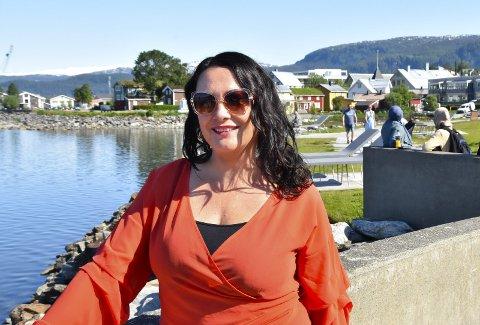Ny festivalsjef: Elisabeth Kulseng-Johansen synes Smeltedigelen er den fineste festivalen som finnes i Rana. Nå tar hun over som festivalsjef. FOTO: Beate Nygård Johansson