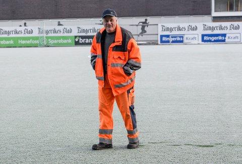 Setter spor etter seg: Tor Kristian Johnsrud har lagt forholdene til rette for lokalidretten i 39 år. Han setter tydelige spor etter seg når han nå går over i pensjonsistenes rekker.