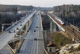 Slik blir Hole og deler av Ringerike - med Fellesprosjektet E16 og Ringeriksbanen. Bildet er fra Hølen i Vestby kommune.