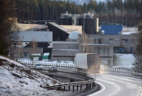 KOSTET: Utbyggingen av Monserud renseanlegg har kostet flere hundre millioner kroner. Nå får innbyggerne i Ringerike også avgiftsøkning.