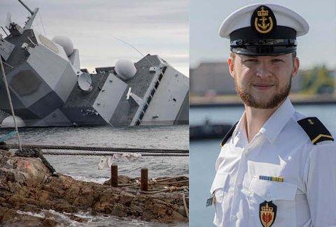 KRISEDAGER: Helge Ingstad-ulykken i 2018 ga travle dager for Jakob Østheim. Han var første fotograf på ulykkesstedet, og forsynte Norge med bilder fra ulykken.