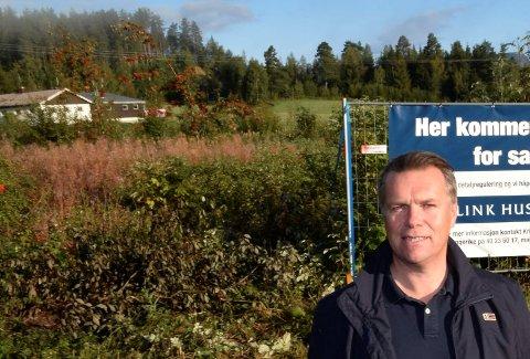 KLAR: Planleggingen har tatt tid, men nå er Erlend Sørakers boligplan klar for første gangs behandling i Ringerike.