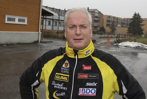 OPTIMIST: Jan Peter Folsland, leder av Gjerdrum idrettsråd, ønsker seg ny, stor  flerbrukshall i 2020.