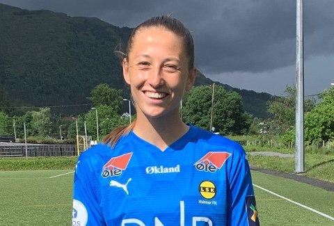 STORTRIVES: Cecilie Fiskerstrands kontrakt med Brighton gikk ut 30. juni, og fra 1. august var hun spilleklar for LSK Kvinner.